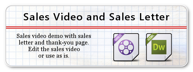 Sales Video and Sales Letter