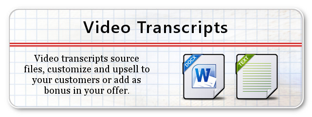 Video Transcripts
